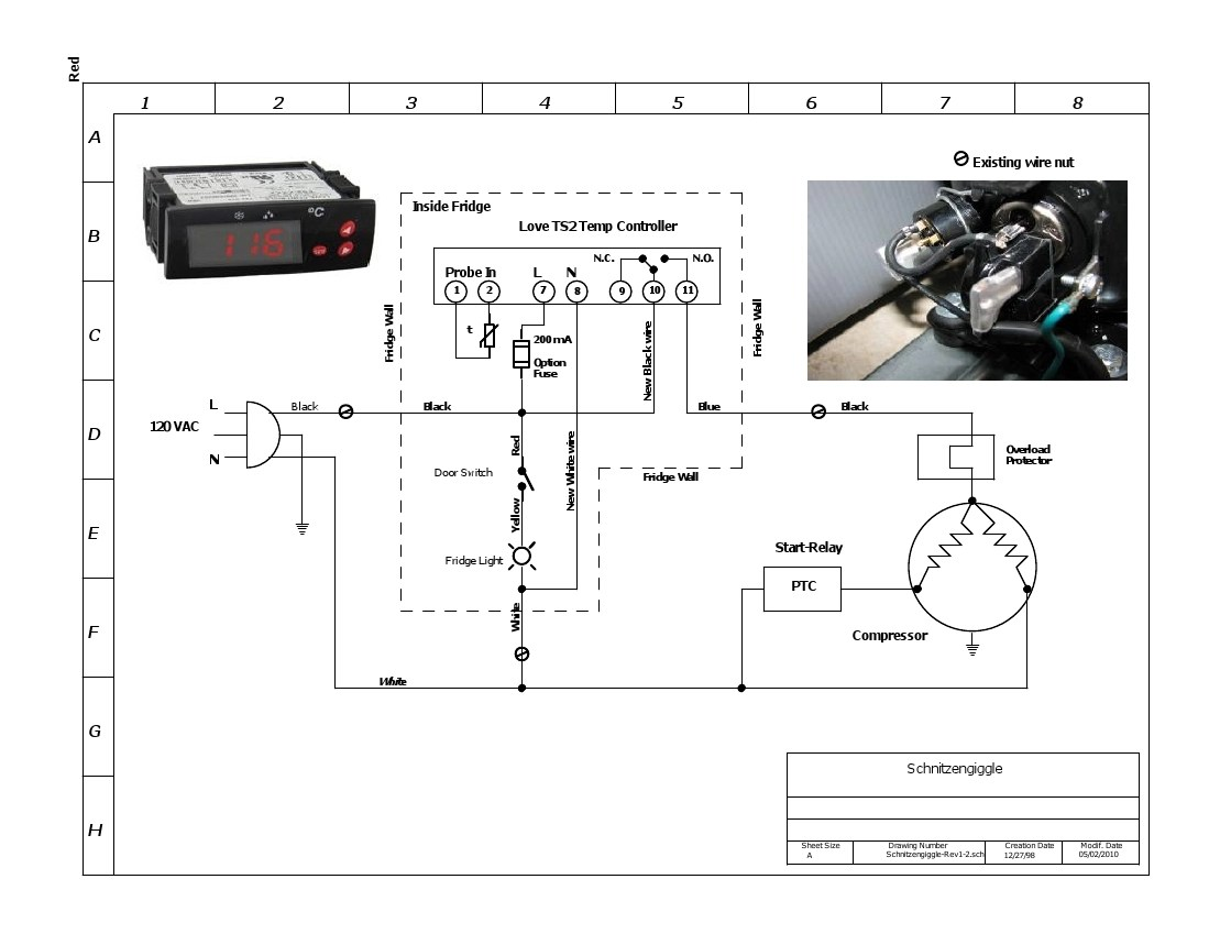 Stc 1000 Wiring Diagram Likewise Ranco Temperature Controller Wiring