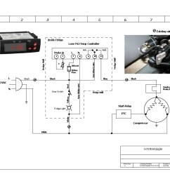 thermostat sifi source kegerator wiring diagram wiring diagram u2022 rh msblog co fridge thermostat  [ 1099 x 849 Pixel ]