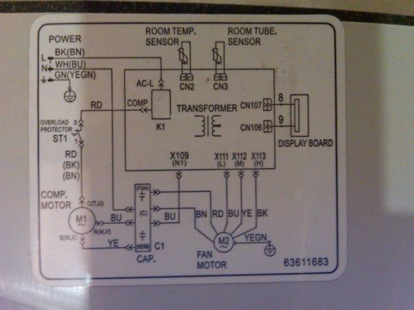 Refrigerator Wiring Diagram Also Freezer Wiring Diagram On Walk In