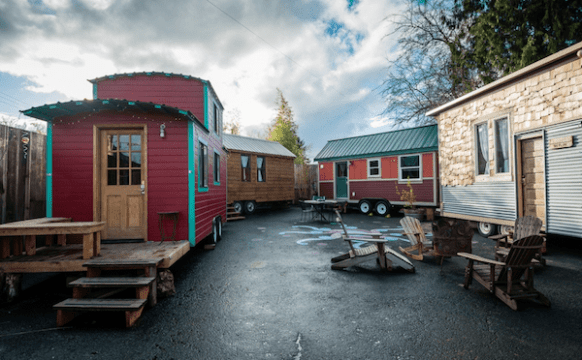 Tiny Homes Complex Architecture