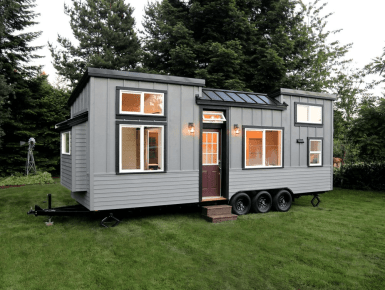 Custom Tiny Home Exterior Architecture