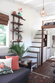 Custom Tiny Home Interior Architecture