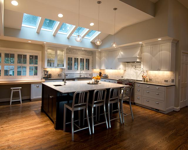 remodel kitchens chandelier over kitchen island the best remodeling contractors in portland custom home builder digest