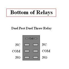 Double Pole Relay Wiring Diagram 1994 Ford Radio Homebuilt Rovs This Drawing Shows How To Wire Two Dpdt Relays For Forward Reverse Of A Motor