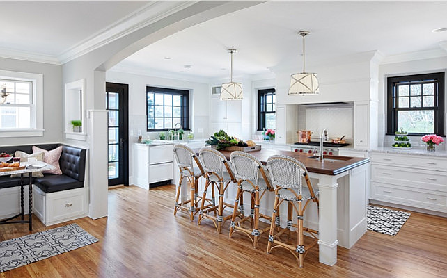 built in wine rack kitchen cabinets small corner hutch bistro style with breakfast nook - home bunch ...