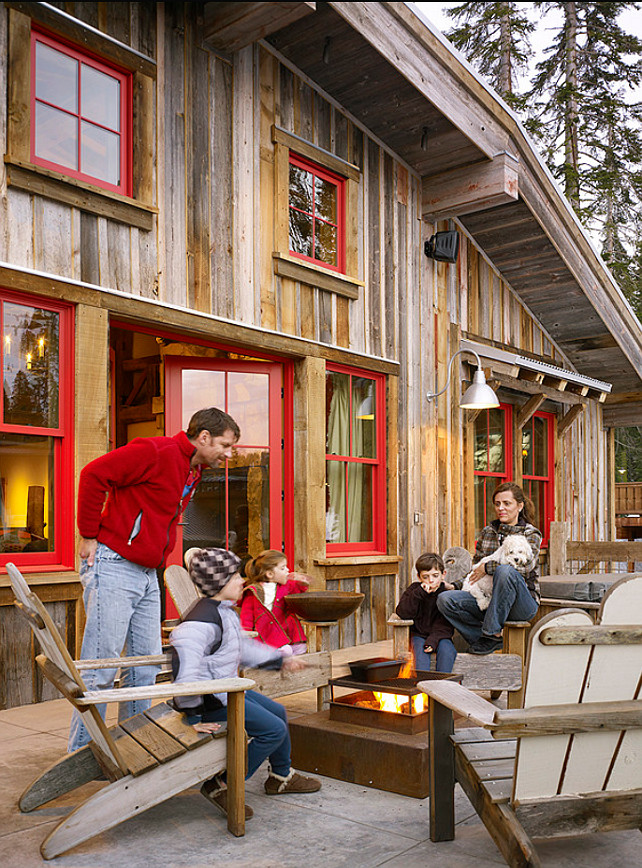 Ski Cabin With Rustic Interiors Home Bunch Interior Design Ideas