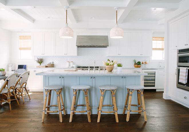 blue kitchen island design a inspiring white with light home bunch interior