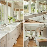 Farmhouse Kitchen Renovation - Home Bunch Interior Design ...