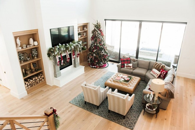 decorate living room with no fireplace how to arrange furniture in a rectangular christmas decorating ideas home bunch interior design for