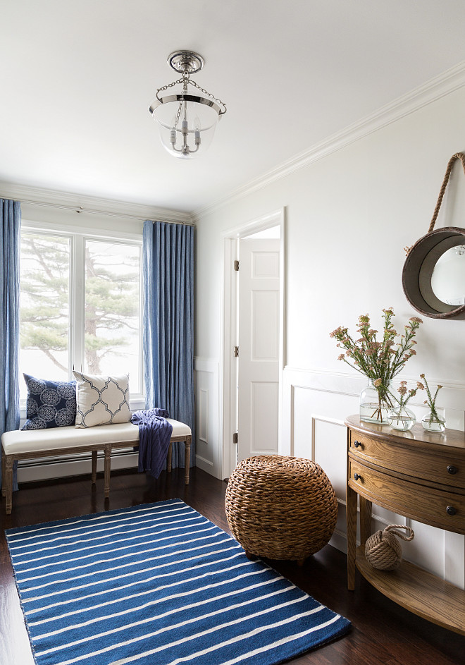 one kings lane chairs college dorm room beach house with subtle blue and white interiors - home bunch interior design ideas