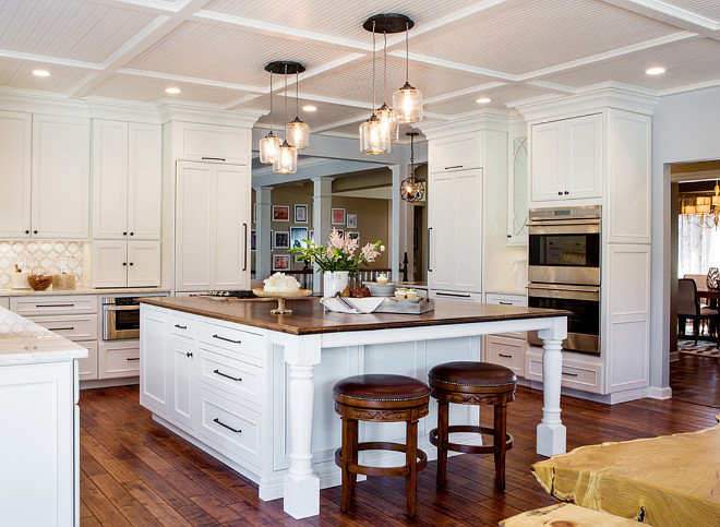 Large Kitchen Cabinet Layout Ideas Home Bunch Interior Design Ideas