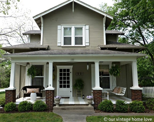 Benjamin Moore Sandy Hook Gray Exterior Paint Home