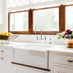 Kitchen Window Ideas Cast Iron Sinks Choosing Treatments For Your Home Bunch Shades Above Sink Treatment