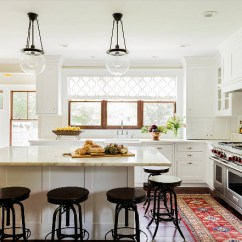 Kitchen Window Coverings Island Chandeliers Choosing Treatments For Your Home Bunch Warm White With Pops Of Color From Rug And Dark Accents A Treatment