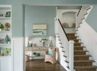 Beach Inspired Home with Blue and White Kitchen - Home ...
