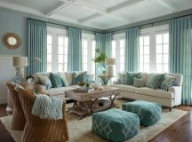 Blue And Turquoise Living Room | Car Interior Design