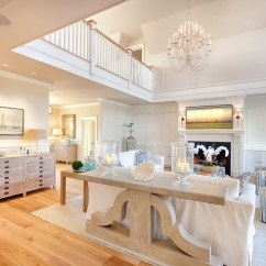 Sail Cloth Beach Chairs Bedroom Chair Furniture Martha's Vineyard Shingle Cottage With Coastal Interiors - Home Bunch Interior Design Ideas