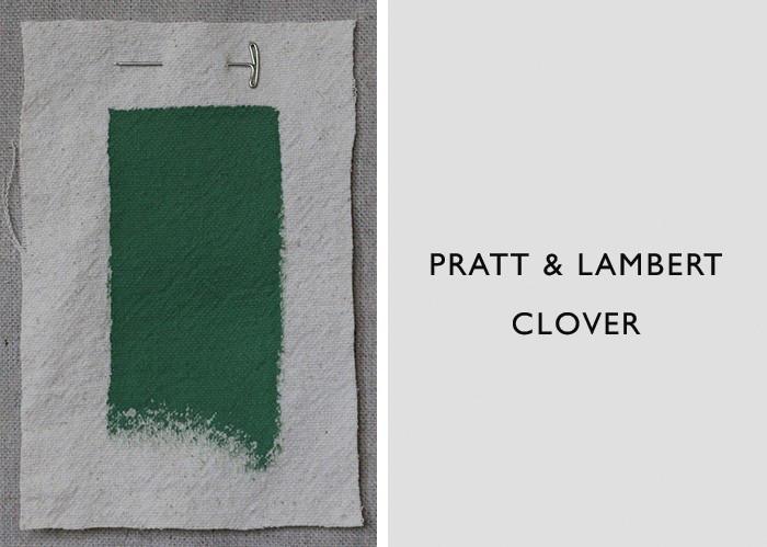 Dark Green Paint Colors, Pratt & Lambert Clover