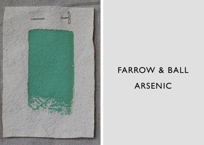 Green Paint Colors, Farrow & Ball Arsenic