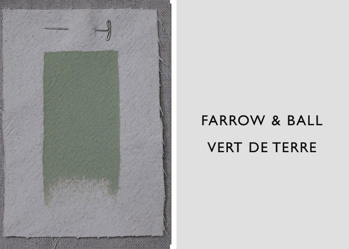 Green Paint Colors, Farrow & Ball Vert de Terre