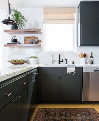 charcoal painted kitchen cabinets charcoal painted kitchen ...