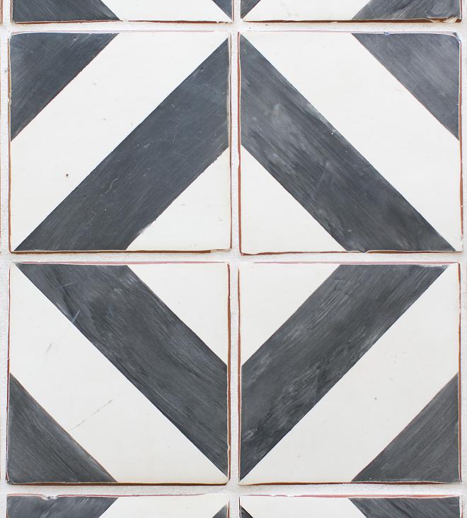 "Terracotta floor tiles. Tabarka Studios Mediterranean 9"" Oxford hand-made terracotta floor tiles. #handmadetiles #terracottafloortiles Patterson Custom Homes"