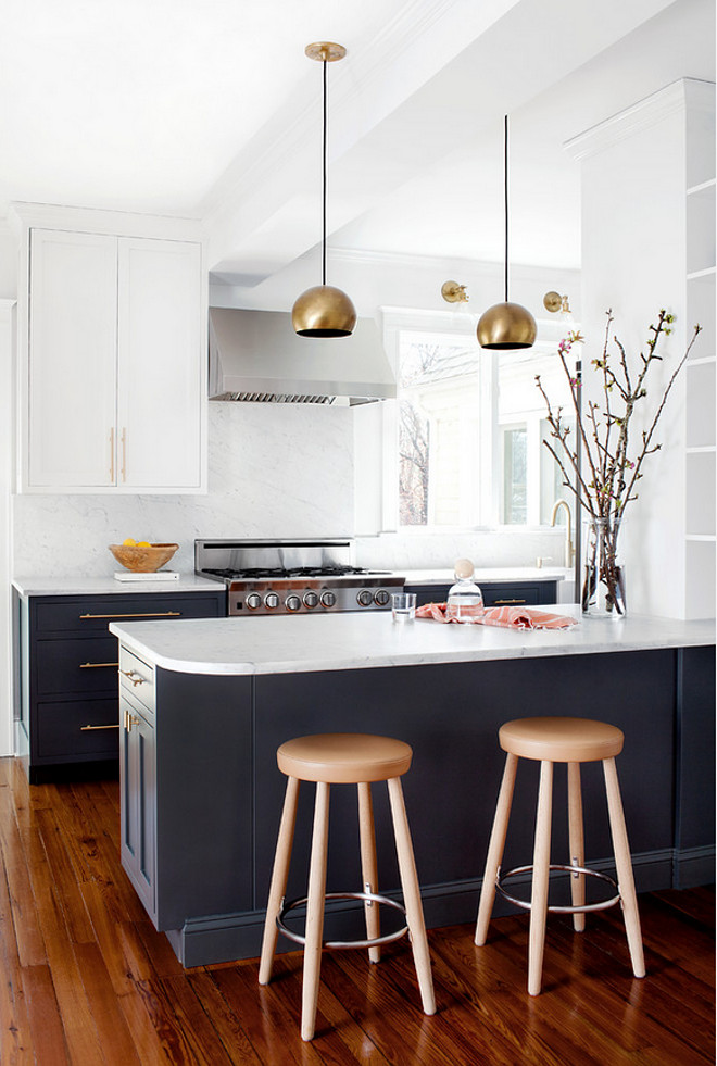 Two Toned Kitchen Renovation Design Ideas Home Bunch Interior