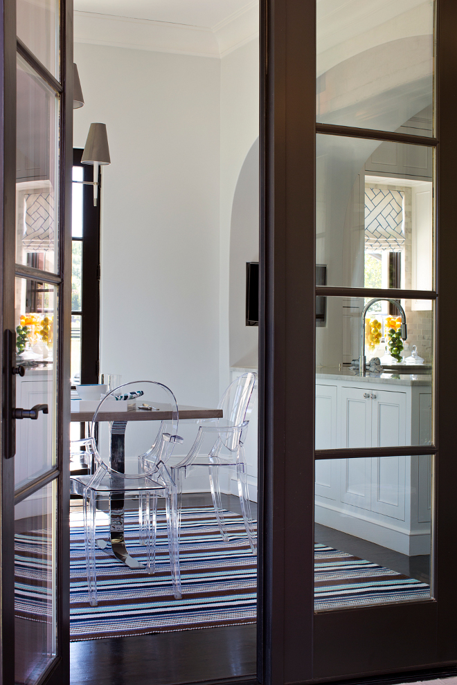 dark brown sofa with blue pillows oversize sofas family home elegant interiors | interior for life