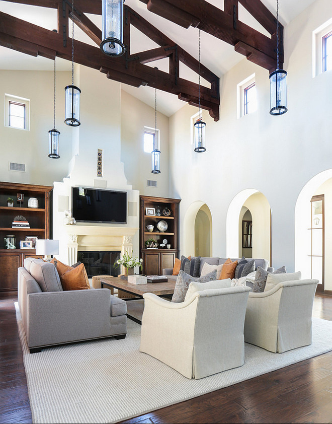 High Ceiling Living Room Ideas  Zion Star
