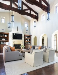 High Ceiling Living Room Ideas