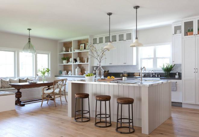 Neutral Modern Farmhouse Kitchen & Bathroom - Home Bunch ...