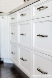White Kitchen with Navy Blue Island Reno Ideas - Home ...