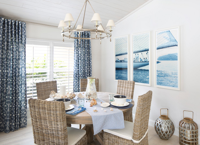 Coastal Cottage With Whitewashed Ceiling Home Bunch