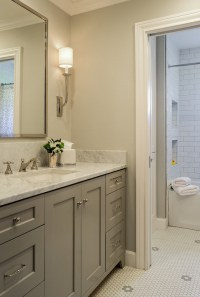 Bathroom Vanities Gray Color : Fantastic Green Bathroom