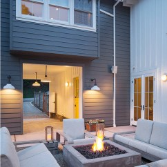 Blue Metal Folding Chairs Ergonomic Living Room Interior Design Ideas - Home Bunch