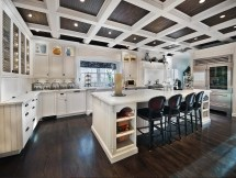 Coffered Ceilings Kitchens