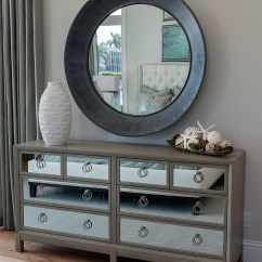 House Of Turquoise Living Room Images Modern Rustic Rooms Florida Beach With Interiors Home Bunch Interior Bedroom Dresser Mirrored A Large Round Mirror