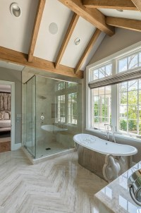 29 Beautiful Bathroom Lighting Vaulted Ceiling | eyagci.com