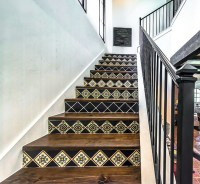 Mexican Tile Stair Risers - Tile Designs