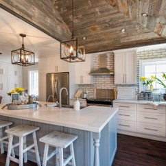 Motion Kitchen Faucet Cupcake Accessories Whitewashed Brick & Reclaimed Barn Wood Shiplap Interiors ...