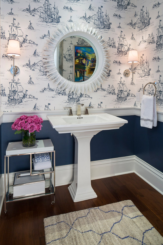navy blue kitchen rugs work station traditional coastal home with classic white - ...