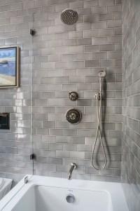 Bathroom Reno with Grey Subway Tile - Home Bunch Interior ...