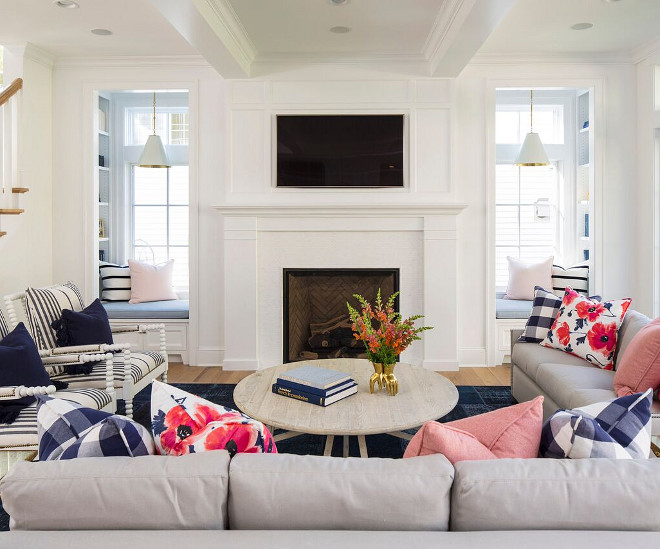 Shingle Style Home Interior Design Ideas