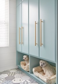 Turquoise Laundry Room Cabinet Paint Color - Home Bunch ...