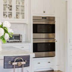 Undercounter Kitchen Sink Tile Backsplash Classic Coastal Style Design - Home Bunch Interior ...