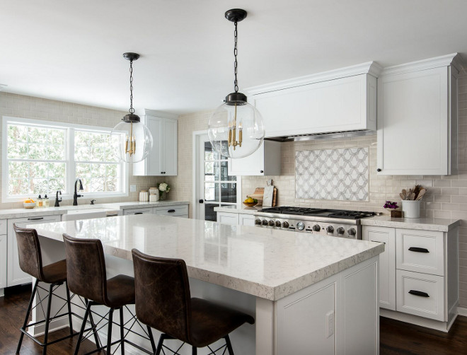 New  Fresh Offwhite Kitchen Design  Home Bunch Interior