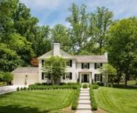 Painted Brick Home Exterior & Kitchen Renovation Ideas ...