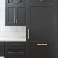 Repaint Kitchen Cabinets Backsplash Home Depot Hot New Trend: Dark Cabinets, Subway Tile ...