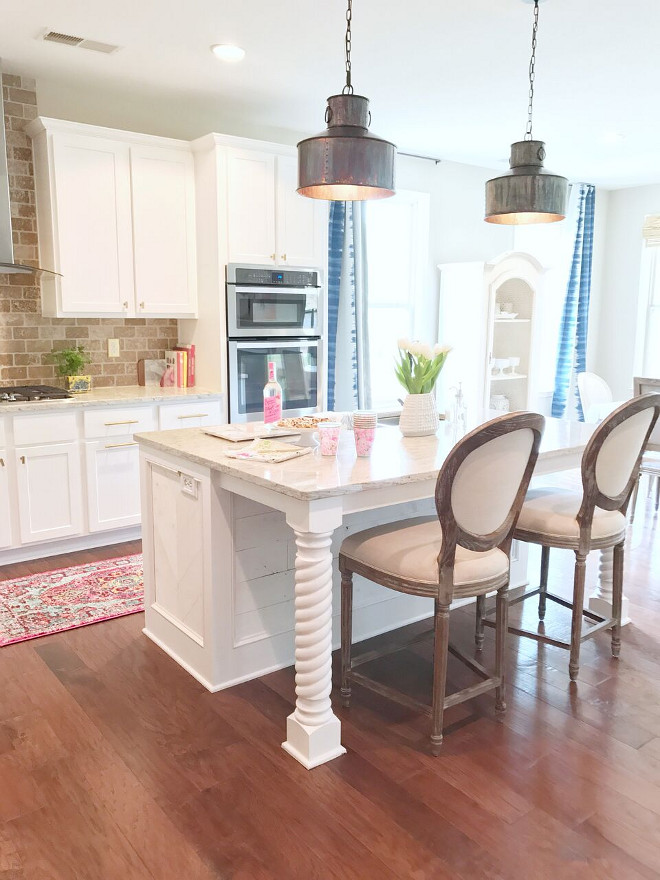 travertine kitchen backsplash inexpensive cabinets beautiful homes of instagram - home bunch interior design ...