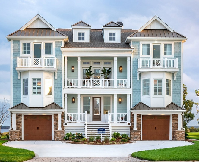 Beach house exterior paint colors sherwin williams - Coastal home exterior color schemes ...